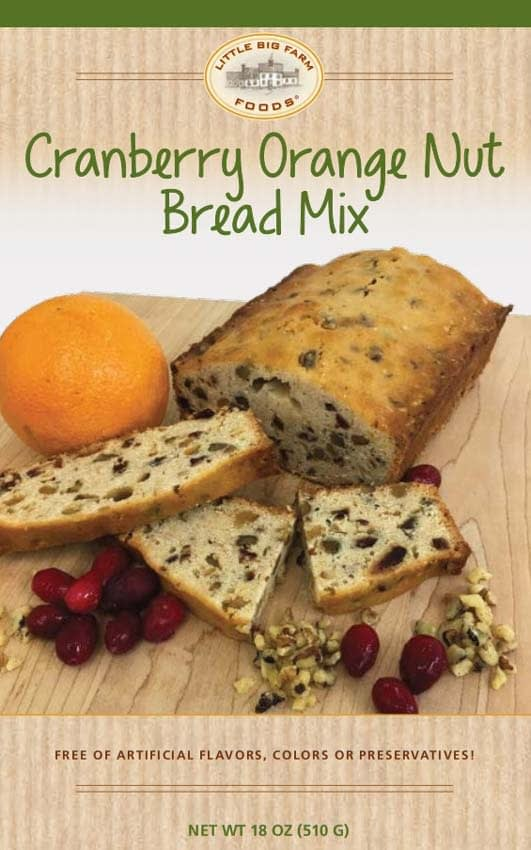 Cranberry Orange Nut Bread Mix
